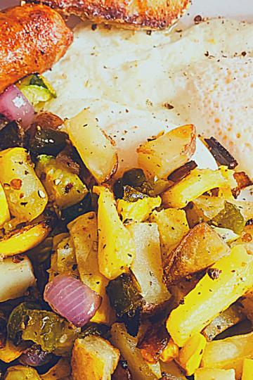 No Guilt Breakfast Potatoes